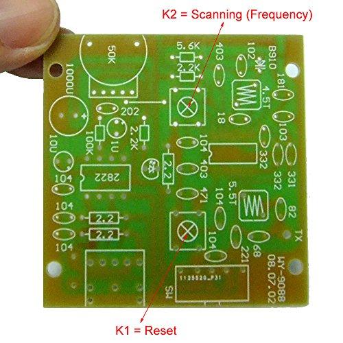 Kit de componentes para montaje de sintonizador de radio FM 9088: Amazon.es: Electrónica