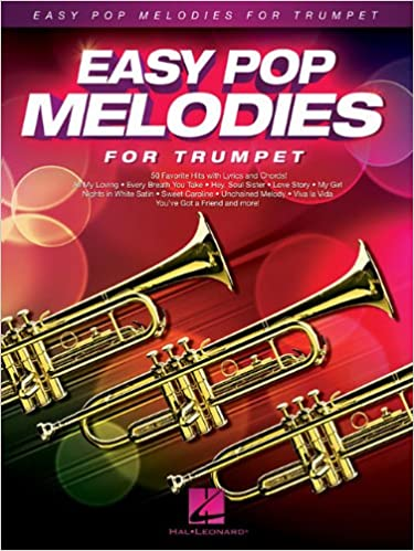 Amazon com: Easy Pop Melodies: for Trumpet (0884088992941