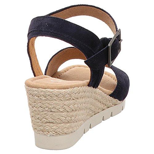 Ocean Suede Comfort Gabor Donna Ss18 Con Sandali Zeppa wS4XqYPX