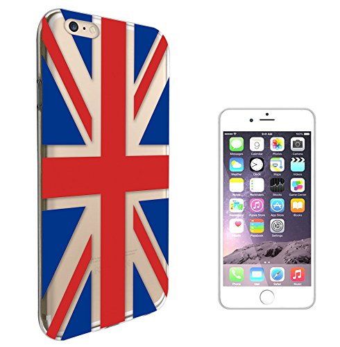 "c01455 - Union Jack British Flag United Kingdom Brexit Design iphone 7 4.7"" Fashion Trend Silikon Hülle Schutzhülle Schutzcase Gel Rubber Silicone Hülle"