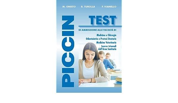 Piccin Test (Italian Edition)