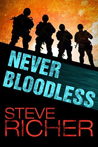 Never Bloodless by [Richer, Steve]