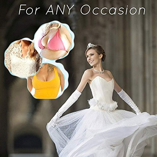 One-World - Sujetador adhesivo - para mujer Pinky-Petals