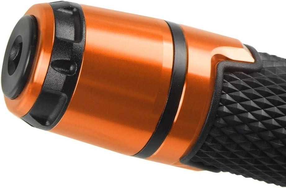 Color : Orange Anhui-DSB Moto Guidon Grip Ends Poign/ées Moto Poign/ées de Guidon for KTM 125 Duke 2011 2012 2013 2014 2015 2016 2017 2018 2019