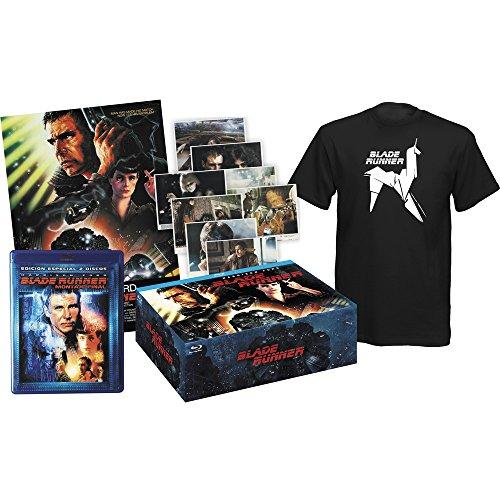 Blade Runner (1982) - Pack Collector (Blu-Ray + Tshirt + 8 Post cards + Poster) [Blu-ray] (European region B/2)