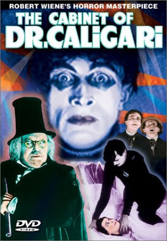 Image result for the cabinet of dr. caligari dvd