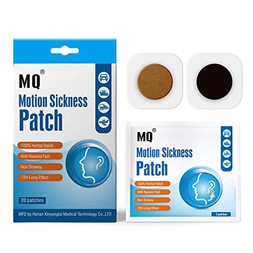 MQ Motion Sickness Patch,20 Count/Box