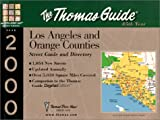 Los Angeles/Orange, 2000 Edition, Thomas Brothers Maps Staff, 1581741243