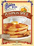 Pioneer Brand Limited Edition Pumpkin Spice Pancake Mix 6 oz (Pack of 2)