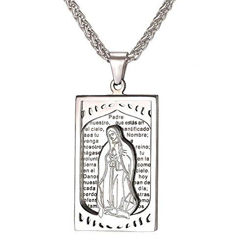 U7 Christian Jewelry Stainless Necklace