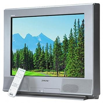sony flat screen tv. sony 32\u0026quot; flat-screen tv with 2-tuner pip (kv-32fs17 flat screen tv