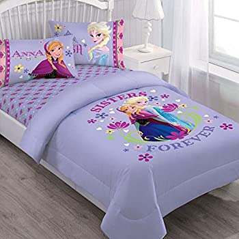 Amazon Com Disney Frozen Love Blooms Twin Microfiber