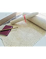 """18""""x18"""" Rattan Webbing for Caning Projects Natural Pre - Woven Open Mesh Cane - Natural Rattan Cane Webbing"""