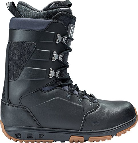 Rome Snowboards Libertine Snowboard Boots, Black, Size 13