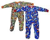 95558B-10 Prince of Sleep Footed Pajamas / Blanket Sleepers (Pack of 2)