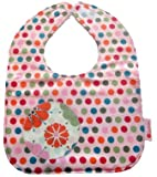 Girl Bib in Giggles from Button