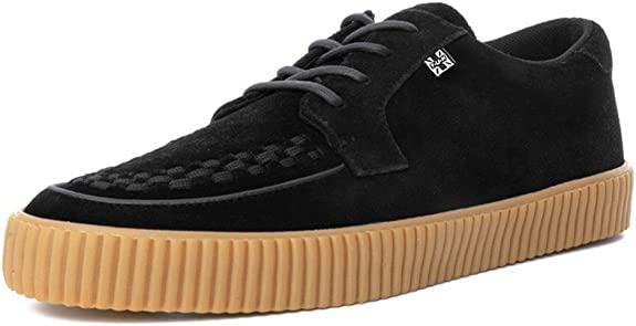 TALLA 40 EU. T.U.K. Shoes Men's EZC Black Suede Gum Shoe