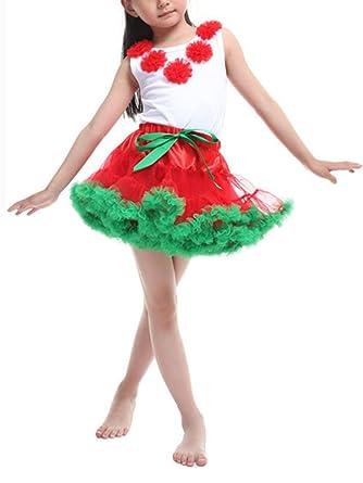 Niñas Flor Camisa con Corto Manga Y Falda De Fiesta De La Princesa ...