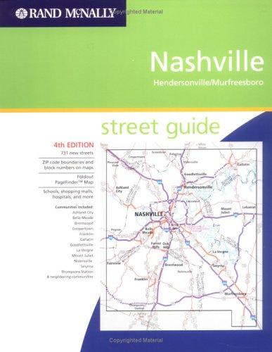 Rand McNally Nashville-Hendersonville/Murfreesboro Street Guide (Rand McNally Street Guides)