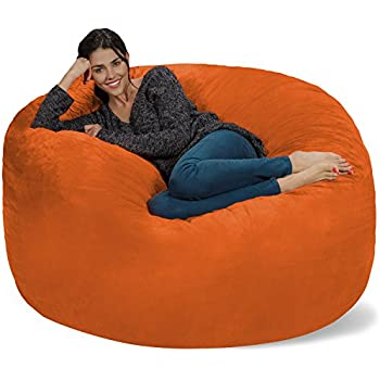 Superieur Chill Sack Bean Bag Chair: Giant 5u0027 Memory Foam Furniture Bean Bag   Big