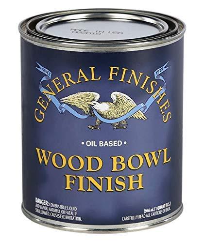 General Finishes SBPT Wood Bowl Finish, 1 Pint