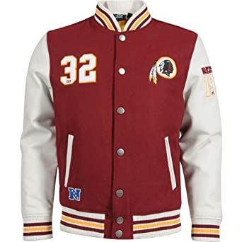NFL fútbol americano Washington Redskins Gridiron Chaqueta, hombre, color Rojo - granate, tamaño XXL: Amazon.es: Deportes y aire libre