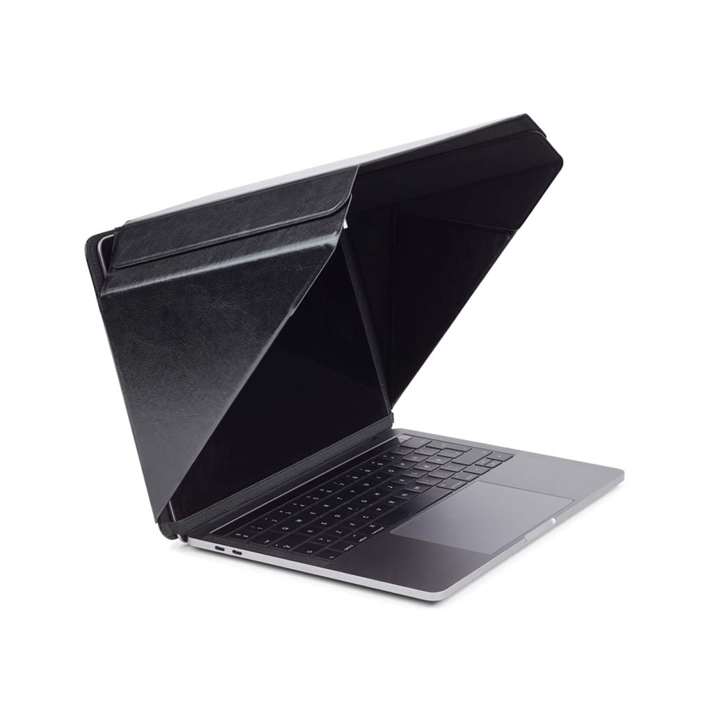 New Ultra Slim Design. Laptop Sun Shade & Privacy Top Hood for Any 13''-13.3'', Black | Universal | Only Cover Providing Complete Privacy, Confidentiality and Sun Protection | Patent No. D790551.
