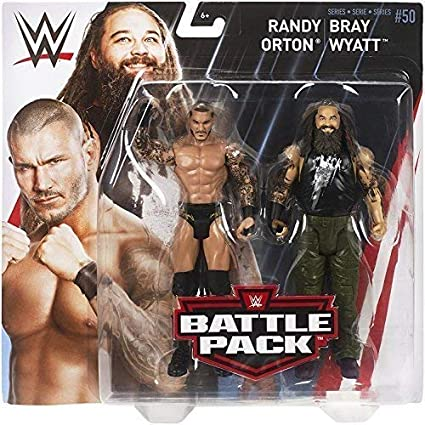 Mattel Battle Pack Basic Collection Series 50 Randy Orton & Bray Wyatt Action Figure Lucha Libre WWE: Amazon.es: Juguetes y juegos