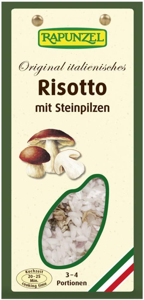 Rapunzel Bio Risotto mit Steinpilzen (2 x 250 gr): Amazon.de: Lebensmittel & Getränke - Pilzrisotto