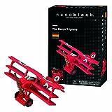 Nanoblock Red Baron Tri-Plane Kit