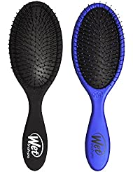 Wet Brush Collection Metallic, Black and Blue, 2 Piece