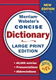 Merriam-Webster's Concise Dictionary, Merriam-Webster, 0877796440