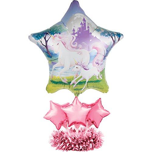 Creative Converting Balloon Centerpiece Kit, Unicorn Fantasy