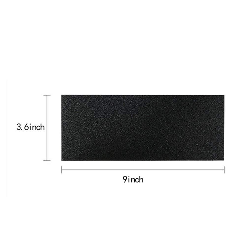 Tensay 48 St/ück 9 x 3,6 Zoll Nass trockenes wasserfestes Schleifpapier Schleifpapier mit K/örnung 120 bis 3000