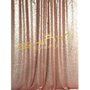 ShinyBeauty Sequin Backdrop 4FTx6FT-Blush Backdrop Photography and Photo Booth Backdrop for wedding/Party/Photography/Curtain/Birthday/Christmas/Prom/Other Event Decor - 48inx72in