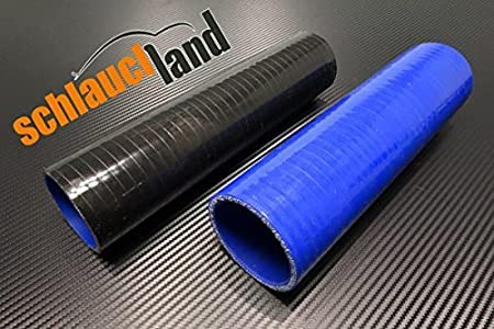 1,00m Silikonschlauch Innendurchmesser 51mm schwarz*** Turbo LLK Verbinder K/ühlwasserschlauch