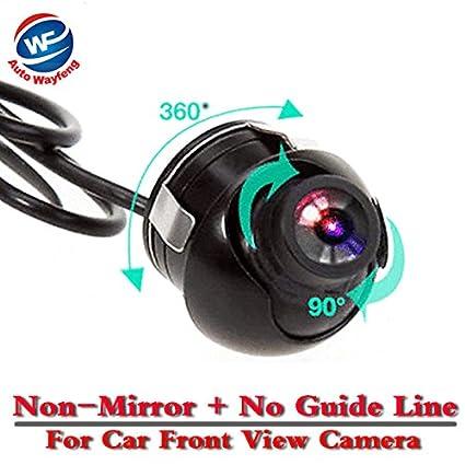 Auto Wayfeng® CCD HD visione notturna 360 gradi macchina fotografica di rearview macchina fotografica d'inversione di backup con Immagine speculare e parcheggio Linea Guida