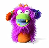 Image of Manhattan Toy Girlie, Fuzzy Wuggs Pink Hand Puppet