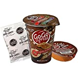 GoGo Dipperz Healthy On-the-Go Roasted Red Pepper Hummus and Multi-Grain Sea Salt Pita Chips - 2.6 oz Combo Packs (Case of 6)