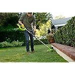 Greenworks-Tools-2101507UA-Decespugliatore-a-Batteria-G40LTK2-Li-Ion-40-V-Larghezza-30-cm-7000-RPM-Testa-Motore-Girevole-Inclinabile-Manico-in-Alluminio-Flower-Verde-Nero-Grigio-0