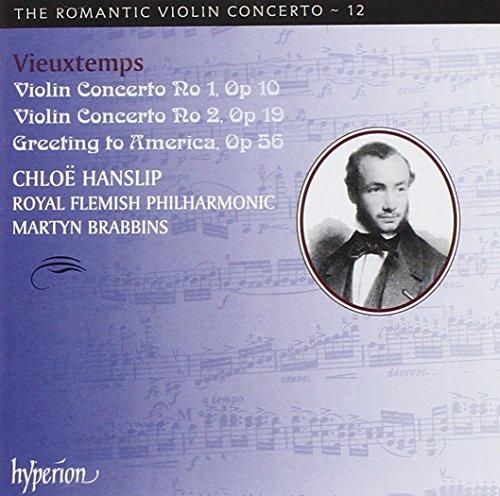 Romantic Violin Concerto Vol.12 - Vieuxtemps