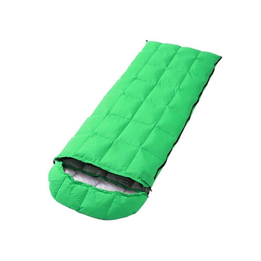 Jinclonder Saco de Dormir, portátil, Ligero, de °C, -15 °C a -5 °C, de Cuatro Colores, Resistente al Agua, para Acampar al Aire Libre 5bf883