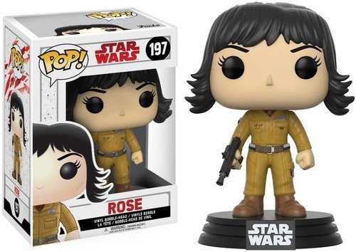 Roses Rose Pop - Funko POP! Star Wars: The Last Jedi - Rose - Collectible Figure