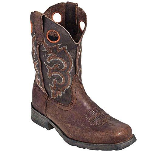 Vintage Square Toe Boots - 4