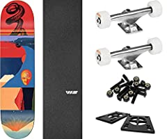"""This professional quality The Killing Floor Skateboards Serpent Skateboard Deck measures 8.6"""" wide x 32.25"""" long and is suitable for every skill level from beginner to pro. A versatile deck that's perfect for street, pool, park and vert, it's..."""