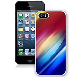 Abstract Colorful Gradation Light (2) Durable High Quality iPhone 5S Phone Case