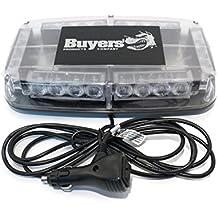 New Amber LED Lightbar Buyers 8891040 Snow Plow / Blade / Truck Emergency Light