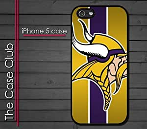 iPhone 5C (New Color Model) Rubber Silicone Case - Minnesota Vikings Football