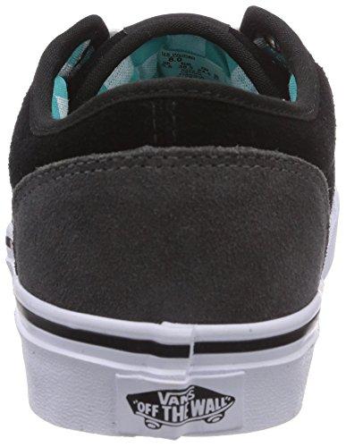 Vans W Atwood - Zapatillas de Deporte de otras pieles Mujer negro - Noir (Suede Black/P)