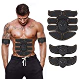 UMATE ABS Stimulator,Abdominal Muscle,ABS Trainer Body Toning Fitness Toning Belt ABS Fit Weight Muscle Toner Workout Machine for Men & Women